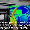 (Video) Jaguar Land Rover's Sensory Steering Wheel Guides Drivers with Heat