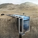 This Cliff-Face House Overlooking the Aegean is a Lair Fit for a Supervillain