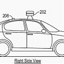 (Patent) Google's Driverless Car Might Come with Airbags on the Outside