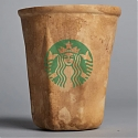 Starbucks Biodegradable Coffee Cup - Crème's 'HyO-Cup'