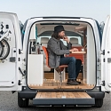 (Video) The World's First All-Electric Mobile Office - Nissan e-NV200 WORKSPACe