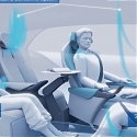 (Video) Toyota's Swiveling Seats Concept for Autonomous Cars
