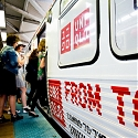 Uniqlo Takes Over Chicago Transit