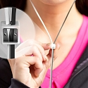 Zipbuds Slide Earbuds Use Zipperless Zipper to Avoid Tangles