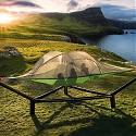 Tentsile Stand Keeps Tree Tents Up in the Air Without Trees By C.C. Weiss