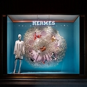 Torafu Architects Construct an Enlarged Microscopic Window Display for Hermès