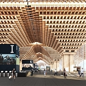 Stunning Wooden Airport will Feature an Indoor Forest