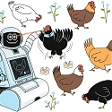 Robot Nannies Look After 3 Million Chickens in Coops of the Future