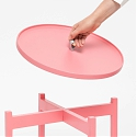 The Ogis - Stylish Side Table with Removable Tray