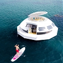 (Video) Inspired by James Bond Movie, Anthenea is Solar-Powered Floating Pod