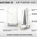(Video) This Lamp/Purifier Hybrid Fills The Room with Light + Fresh Air - Sunnaform S5