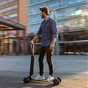 Audi Combines e-Scooter with Skateboard - E-Tron Scooter