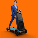 ROLO Autonomous Treadmill Scooter for Hire as Last-Mile Transportation