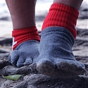 (Video) A Swiss Company Created Socks That can be Worn Instead of Shoes