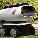 (Video) Meet DRU, The New Autonomous Pizza Delivery Robot from Domino's