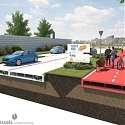 Paving Dutch Plastic Roads with Plastic Pulled from Oceans - WolkerWessels