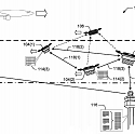 (Patent) Amazon Patents Autonomous Air Traffic Control For Drones