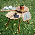 The 'Elytra' Table by Radhika Dhumal Fans Out for Additional Space