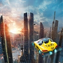 Futuristic Drone Taxi to Solve Traffic Jam in Big Cities