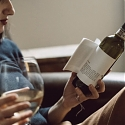 (Video) Stories Wrapped Around Wine Bottles Let You Read And Sip
