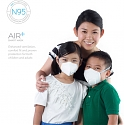 Air+ Smart Mask : Ergonomic Concept Face Mask with Add-on Micro Ventilators