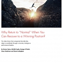 "(PDF) Bain - Why Return to ""Normal"" When You Can Recover to a Winning Position ?"