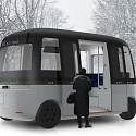 MUJI is Developing Self-Driving Buses That Can Function in Any Weather Condition