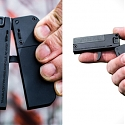 Foldable, Credit Card-sized Handgun That Fits Ib Your Wallet - LifeCard .22LR