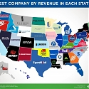 Largest Company by Revenue for Every State 2015