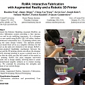 (PDF) RoMA : Interactive Fabrication with Augmented Reality and a Robotic 3D Printer