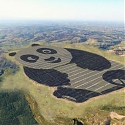 World's Cutest Solar Farm in China is Shaped Like a Panda - The Panda Power Plant