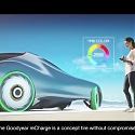 (Video) Goodyear reCharge Concept : Making Tire Changing Easy with Capsules