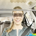CES 2020 - Bosch's LCD Car Visor Only Blocks Your View of the Road Where the Sun Is In Your Eyes