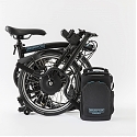 Brompton Electric Bicycle Fuses Folding-Ability with Portable Battery