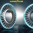 (Video) Goodyear Designed a Tire That could Help Cars Fly - Aero Tire