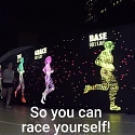 (Video) Nike Made an Interactive Track That Lets You Race an LED Ghost of Yourself