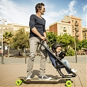 (Video) Quinny Longboard Stroller Might be the Most Exciting Way to Get Around with a Child