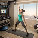 Hilton Brings The Gym Into The Hotel Room - Five Feet to Fitness