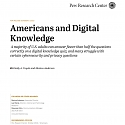 (PDF) Pew - Americans and Digital Knowledge