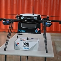 World's First Autonomous Drone Pizza Delivery Takes Place in New Zealand