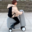(Paper) Inflatable E-Bike Fits in a Backpack - POIMO