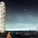 2018 Skyscraper Competition : First Place - Foldable Skyscraper for Disaster Zones