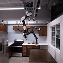 (Video) Toyota's Robot Butler Prototype Hangs From the Ceiling Like a Bat