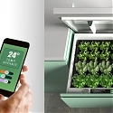 This Herb Garden was Designed with Smart Monitoring Tech
