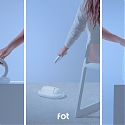 This Modular Design Functions as a Charging Station, Vacuum Cleaner, Air Diffuser, Timer