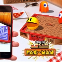 (Video) Pizza Hut Spins Boxes Into Pac-Man AR Game for 'Newstalgia' Campaign
