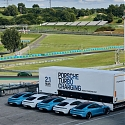 Porsche's Innovative Solution - High-power Charging Trucks Become Mobile Power Sources