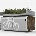 The Future of The Curb : Oonee Mini Pod Fits 10 Bikes in a Single NYC Parking Spot