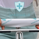 Anti-Microbial Wrap Makes Handles Safe to Touch - Handshield