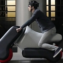(Video) Inflatable Electric Scooter is Made to Fit Each Rider - Poimo